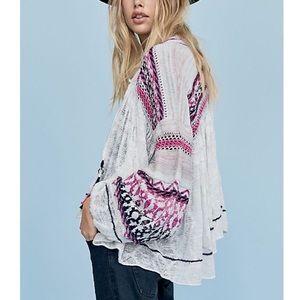 Free People Dreamland Knit Cardigan Size Medium